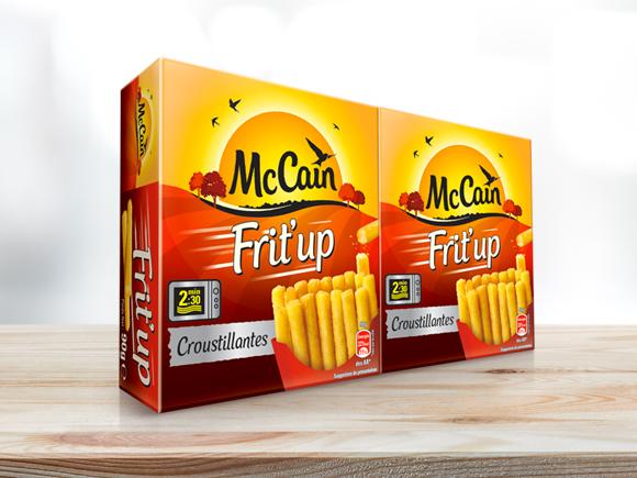 Frites frit 39 up produit surgel mc cain - Frite au micro onde ...