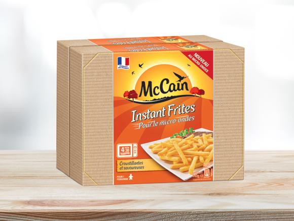 Instant frites produit surgel mc cain - Frite au micro onde ...