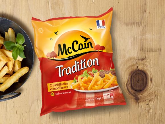 Frites tradition produit surgel mc cain - Frites pour friteuse au four ...