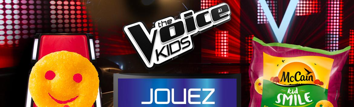 Kid Smile et The Voice Kids