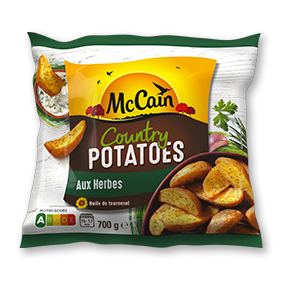 McCain Country Potatoes aux Herbes